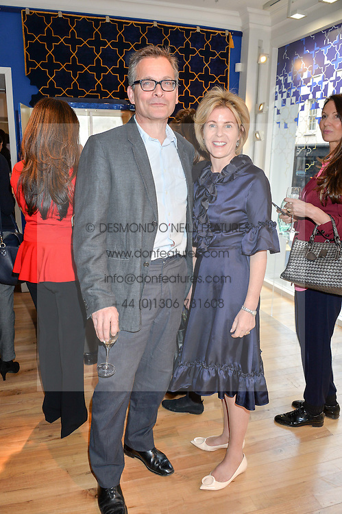 DANIEL CHATTO and VISCOUNTESS LINLEY at a party to celebrate the 30th anniversary of Linley held at Linley, 60 Pimlico Road, London on 3rd May 2016.
