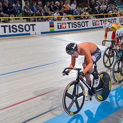 01-03-2018: Wielrennen: WK Baan: Apeldoorn<br />Wim Stroetinga had niet de benen in de scratch race
