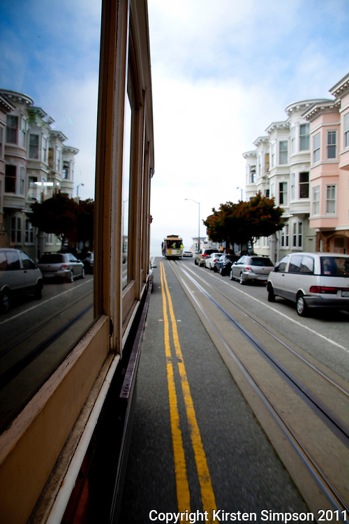 The famous trams in San Francisco