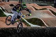 #566 (OQUENDO ZABALA Carlos Mario) COL at the 2016 UCI BMX World Championships in Medellin, Colombia.