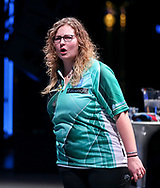 Aileen de Graaf during the BDO World Professional Championships at the O2 Arena, London, United Kingdom on 5 January 2020.