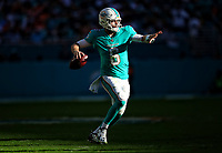 Jay Cutler during a NFL game between the Denver Broncos and the Miami Dolphins   at Hard Rock Stadium , in Miami ,FL on 12.02.17.<br /> ( Photo/Tom DiPace)