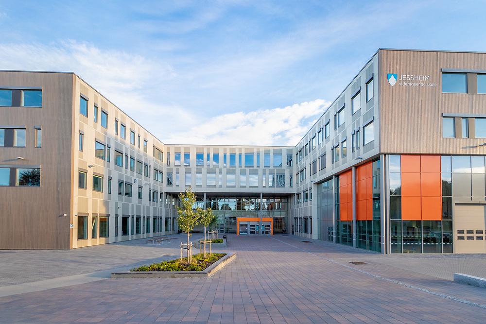 Nye Jessheim videregående skole er den største videregående skolen i Akershus fylke. Offisiell åpning av skolen var 10. oktober 2017.