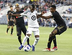 Los Angeles FC v Minnesota United - 09 May 2018