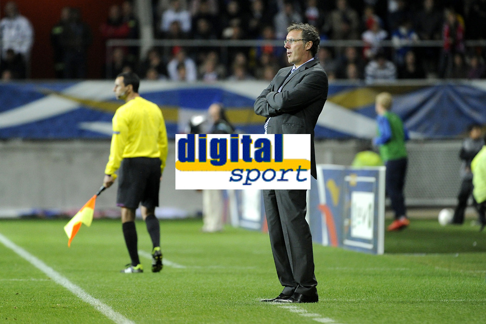 FOOTBALL - INTERNATIONAL FRIENDLY GAMES 2011/2012 - FRANCE v ESTONIA  - 5/06/2012 - PHOTO JEAN MARIE HERVIO / REGAMEDIA / DPPI - LAURENT BLANC (COACH FRANCE)
