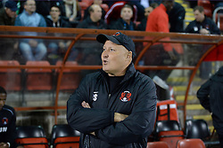 Leyton Orient's manager Russell Slade  - Photo mandatory by-line: Mitchell Gunn/JMP - Tel: Mobile: 07966 386802 17/09/2013 - SPORT - FOOTBALL -  Matchroom Stadium - London - Leyton Orient v Notts County - Sky Bet League One