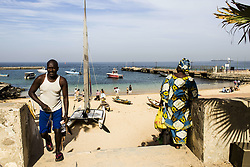 January 4, 2016 - Dakar, Goree island, Senegal - Gorée was a famous destination for people interested in the Atlantic slave trade (Credit Image: © Dani Salv/VW Pics via ZUMA Wire)