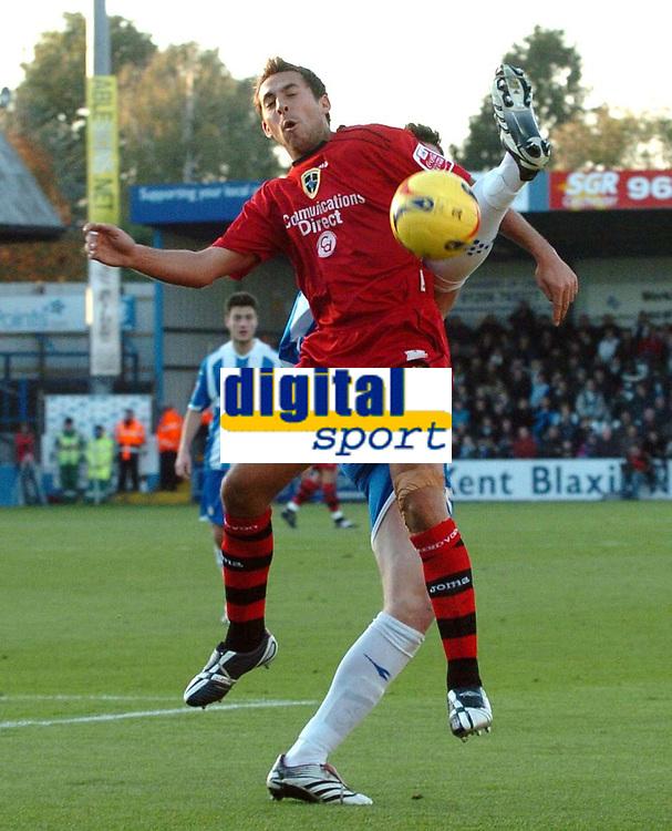 Photo: Ashley Pickering.<br />Norwich City v Cardiff City. Coca Cola Championship. 21/10/2006.<br />Cardiff's Michael Chopra.