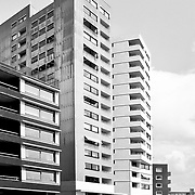 """Maastricht, The Netherlands, 2002: View of the Housing Complex in the """" Ceramique District"""",  by Alvaro Siza arch.. Photographs by Alejandro Sala   Visit Shop Images to purchase and download a digital file and explore other Alejandro-Sala images…"""