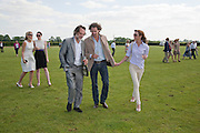 PAUL GREEN; PRINCE VALERIO MASSIMO DI ROCCASECCA; ALESSANDRA FRANZI KOFLER;  , The Dalwhinnie Crook  charity Polo match  at Longdole  Polo Club, Birdlip  hosted by the Halcyon Gallery. . 12 June 2010. -DO NOT ARCHIVE-© Copyright Photograph by Dafydd Jones. 248 Clapham Rd. London SW9 0PZ. Tel 0207 820 0771. www.dafjones.com.