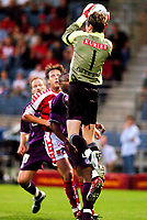 ◊Copyright:<br />GEPA pictures<br />◊Photographer:<br />Andreas Troester<br />◊Name:<br />Didulica<br />◊Rubric:<br />Sport<br />◊Type:<br />Fussball<br />◊Event:<br />T-Mobile Bundesliga, Supercup, GAK Graz vs Austria Magna Wien<br />◊Site:<br />Graz, Austria<br />◊Date:<br />09/07/04<br />◊Description:<br />Sigurd Rushfeldt (A.Wien), Rene Aufhauser (GAK), Rabiou Afolabi, Joey Didulica (A.Wien)<br />◊Archive:<br />DCSTR-0907041845<br />◊RegDate:<br />10.07.2004<br />◊Note:<br />8 MB - WU/WU