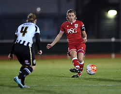 Grace McCatty defender for Bristol City Women - Mandatory by-line: Paul Knight/JMP - Mobile: 07966 386802 - 23/02/2016 -  FOOTBALL - Stoke Gifford Stadium - Bristol, England -  Bristol City Women v Notts County Ladies - Pre-season friendly