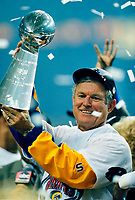 © 2005 Tom DiPace Photography<br /> All Rights Reserved<br /> 561.968.0600<br /> Kurt Warner SBXXXIV MVP 1.30.2000<br /> <br /> Head Coach Dick Vermel<br /> Rams defeat Titans 23-16<br /> ©Tom DiPace<br /> <br /> <br /> <br /> <br /> <br />  BY TOM DIPACE©