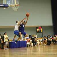 Jurong East Sports Hall, Monday, March 11, 2013 – Anglo-Chinese School (Barker Road) outlasted Catholic High to win 62–54 and in the process defend their South Zone B Division Basketball Championship.<br /> <br /> Story: http://www.redsports.sg/2013/03/13/south-zone-b-div-basketball-acs-barker-catholic-high/
