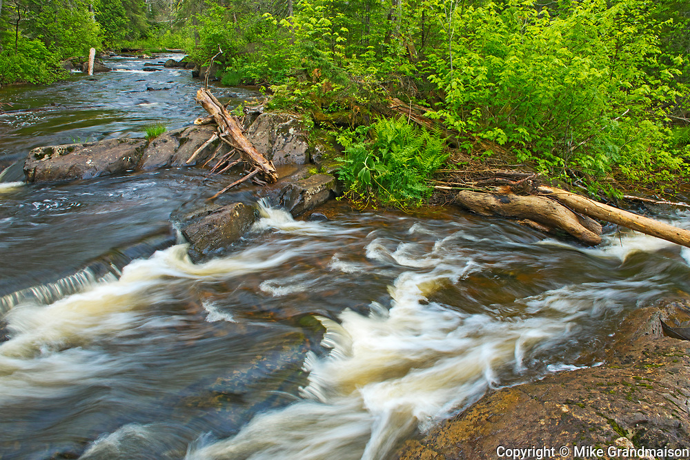 Riviere Rocheuse, Near Verbois, Quebec, Canada