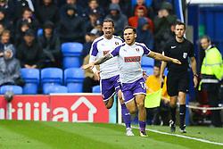 Goal, Jon Taylor of Rotherham United scores, Portsmouth 0-1 Rotherham United - Mandatory by-line: Jason Brown/JMP - 03/09/2017 - FOOTBALL - Fratton Park - Portsmouth, England - Portsmouth v Rotherham United - Sky Bet League Two