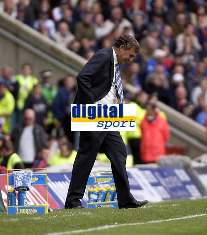 Copyright Sportsbeat. 0208 3926656<br />Picture: Henry Browne<br />Date: 11/05/2003<br />Birmingham City v West Ham United FA Barclaycard Premiership<br />Trevor Brooking during the second half