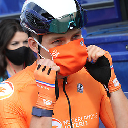 26-08-2020: Wielrennen: EK wielrennen: Plouay<br /> David van der Poel
