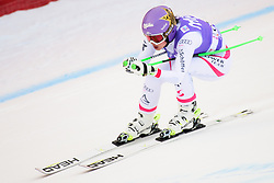 January 19, 2018 - Cortina D'Ampezzo, Dolimites, Italy - Anna Veith of Austria competes  during the Downhill race at the Cortina d'Ampezzo FIS World Cup in Cortina d'Ampezzo, Italy on January 19, 2018. (Credit Image: © Rok Rakun/Pacific Press via ZUMA Wire)