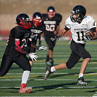 Mitty vs Westmont F/S Football 2017