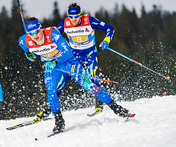 01.03.2019, Seefeld, AUT, FIS Weltmeisterschaften Ski Nordisch, Seefeld 2019, Langlauf, Herren, 4x10 km Staffel, im Bild Giandomenico Salvadori (ITA) // Giandomenico Salvadori of Italy during the men's cross country 4x10 km relay competition of FIS Nordic Ski World Championships 2019. Seefeld, Austria on 2019/03/01. EXPA Pictures © 2019, PhotoCredit: EXPA/ Stefan Adelsberger