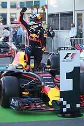 June 25, 2017 - Baku, Azerbaijan - Motorsports: FIA Formula One World Championship 2017, Grand Prix of Europe, .#3 Daniel Ricciardo (AUS, Red Bull Racing) (Credit Image: © Hoch Zwei via ZUMA Wire)