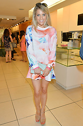 OLIVIA COX at the French Connection #NeverMissATrick Launch Party held at French Connection, 396 Oxford Street, London on 23rd July 2014.