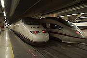 Spain, Barcelona Sants Railroad Station, High Speed Trains, EuroRail