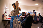 A backstage pass to St. Mary's College of California's presentation of Charlotte's Web.