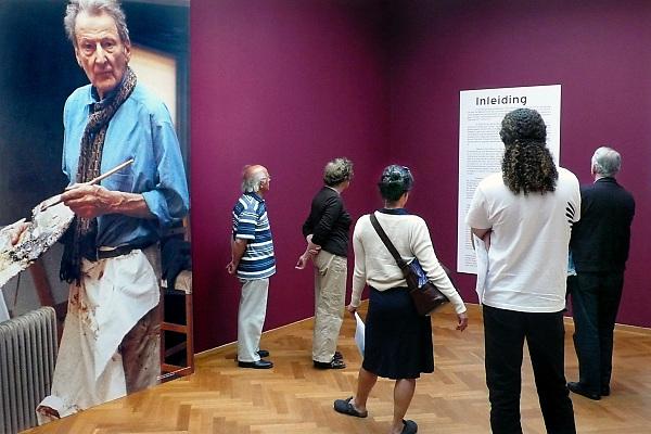 Nederland, Den Haag, 4-5-2008..Tentoonstelling van de schilder Lucian Freud in het Haags gemeentemuseum..Foto: Flip Franssen/Hollandse Hoogte
