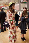 TALI LENNOX; ISABELLA COTIER, Royal Academy of Arts Summer Exhibition Preview Party 2011. Royal Academy. Piccadilly. London. 2 June <br /> <br />  , -DO NOT ARCHIVE-© Copyright Photograph by Dafydd Jones. 248 Clapham Rd. London SW9 0PZ. Tel 0207 820 0771. www.dafjones.com.