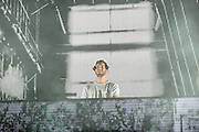 """WASHINGTON, DC - August 23rd, 2014 - Baauer performs at the 3rd annual Trillectro Music Festival at RFK Stadium in Washington, D.C. His 2012 track """"Harlem Shake"""" became an internet meme. (Photo by Kyle Gustafson / For The Washington Post)"""