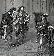 Jean Dominique Cassini(1625-1712) Italian-French astronomer, introduced to Louis XIV.
