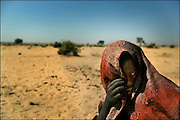 Refugee from the Darfur region photographed at the border between Chad and Sudan.<br /> Photo Ola Torkelsson<br /> Copyright Ola Torkelsson