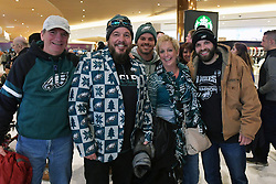 Fans and radio row at Mall of America on February 2, 2018 in Bloomington, Minnesota. (Photo by Drew Hallowell/Philadelphia Eagles)