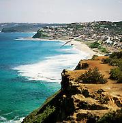 Hangliding over Susan Gilmore Beach - Newcastle Australia