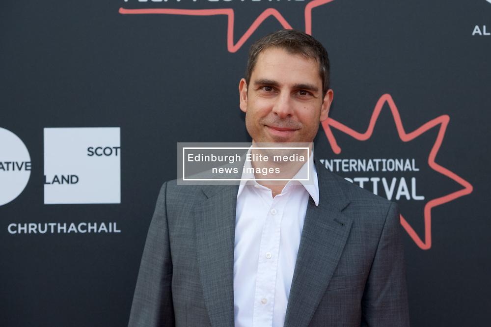 "Director, Ludwig Shammmasian on the red carpet during the Edinburgh International Film Festival Premier of ""Romans"" at Cineworld Edinburgh, Saturday 1st July 2017(c) Brian Anderson | Edinburgh Elite media"
