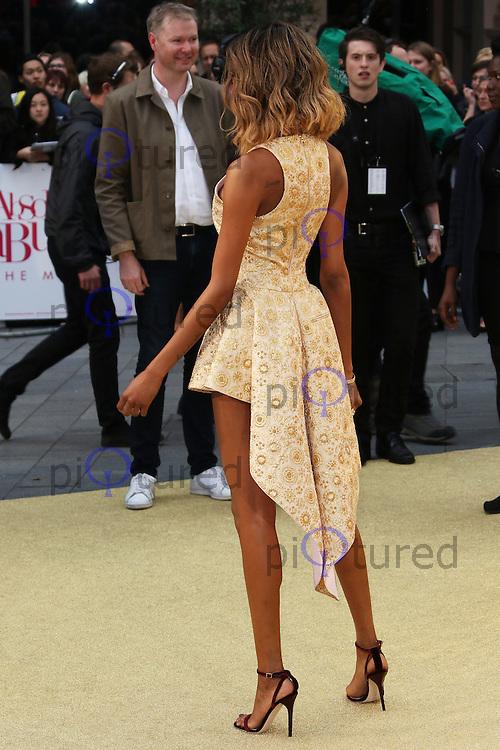 Jourdan Dunn, Absolutely Fabulous: The Movie - World Film Premiere,  Leicester Square, London UK, 29 June 2016, Photo by Richard Goldschmidt