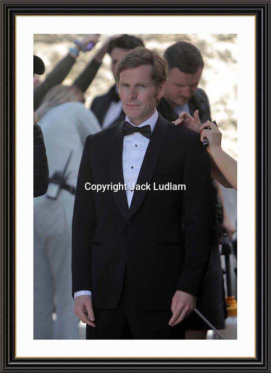 Shaun Evans  Highest Paid actor in the world( People mag ) filming Endeavour in Oxford 18  August  2019<br />
