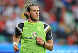 Gareth Bale of Wales (Real Madrid) - Photo mandatory by-line: Alex James/JMP - Mobile: 07966 386802 - 12/06/2015 - SPORT - Football - Cardiff - Cardiff City Stadium - Wales v Belgium - Euro 2016 qualifier