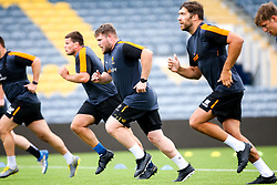 Richard Palframan of Worcester Warriors during preseason training ahead of the 2019/20 Gallagher Premiership Rugby season - Mandatory by-line: Robbie Stephenson/JMP - 06/08/2019 - RUGBY - Sixways Stadium - Worcester, England - Worcester Warriors Preseason Training 2019