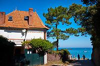 France, Vendée (85), Noirmoutier, la plage Souzeaux // France, Vendée, Noirmoutier, Souzeaux beach