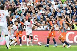 September 30, 2018 - Montpellier, France - 14 ANTONIN BOBICHON (NIM) - 22 SADA THIOUB (NIM) - 11 ANDY DELORT  (Credit Image: © Panoramic via ZUMA Press)