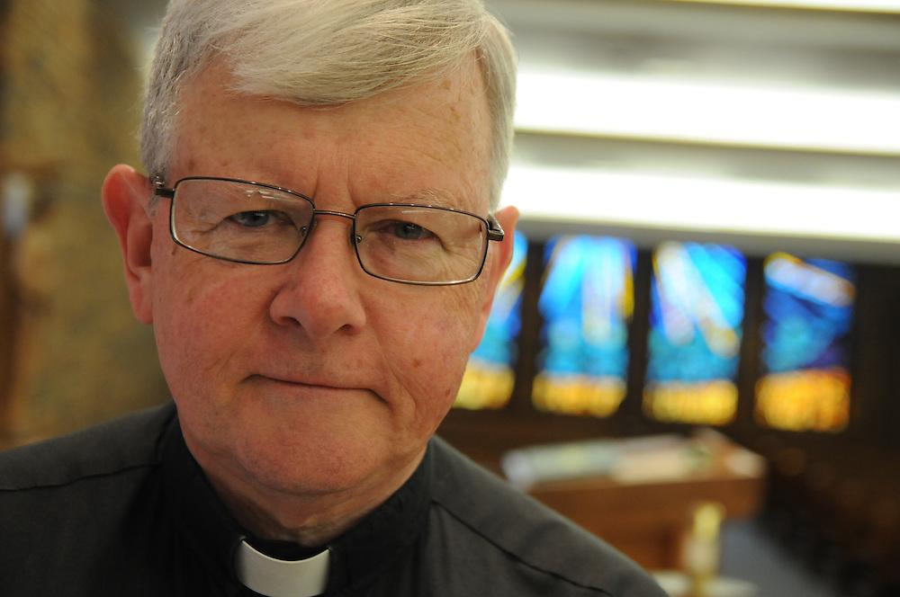 Father Mark Canavan, Pastor, St. Louis de Montfort in Oak Lawn. .