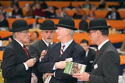 Jury tuigpaarden<br /> KWPN Hengstenkeuring - 's Hertogenbosch 2005<br /> Photo © Hippo Foto