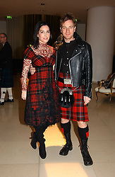 SHARLEEN SPITERI and EWAN MCGREGOR at a Burns Night dinner in aid of CLIC Sargent and Children's Hospice Association Scotland held at St.Martin's Lane Hotel, St.Martin's Lane, London on 25th January 2007.<br />
