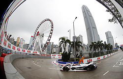 March 10, 2019 - Hong Kong, HONG KONG - 6, Felipe NASR, BRA, Geox Dragon, Penske, EV-3, .HONG KONG, CHN, 10. March 2019, Formula E Hong Kong .E-Prix, FIA Formula E, Formula E Grand Prix 2019.  Formel E, Elektro e-prix Autorennen (Credit Image: © David McIntyre/ZUMA Wire)