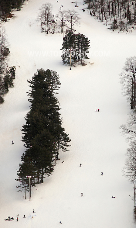 West Point, New York - Skiers head down the hill at the Victor Constant Ski Slope at the United States Military Academy at West Point on Feb. 22, 2010.