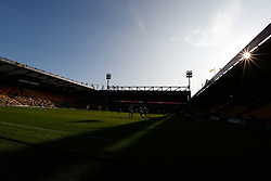 General view inside the stadium as fans return as part of a pilot event following the coronavirus pandemic  - Mandatory by-line: Phil Chaplin/JMP - 19/09/2020 - FOOTBALL - Carrow Road - Norwich, England - Norwich City v Preston North End - Sky Bet Championship