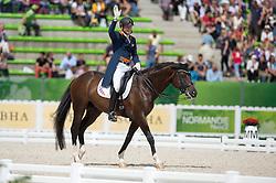 Diederik Van Silfhout, (NED), Arlando NH NOP - Freestyle Grand Prix Dressage - Alltech FEI World Equestrian Games™ 2014 - Normandy, France.<br /> © Hippo Foto Team - Jon Stroud<br /> 25/06/14